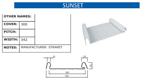 Sunset Fibreglass Profile