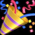 party popper emoji