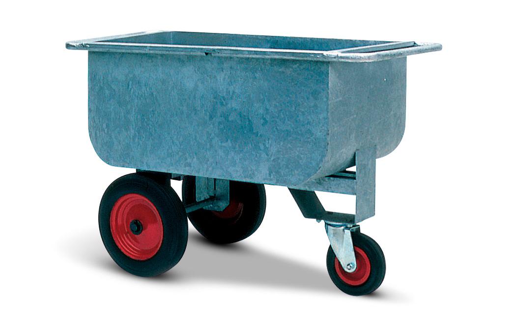 Galvanised Feed Trolley