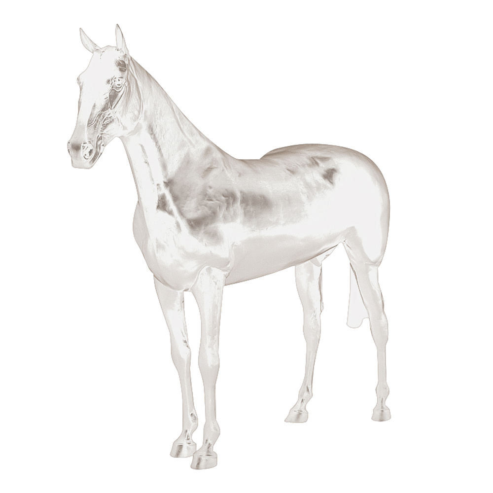 Life Size Display Horse - Brown Or White