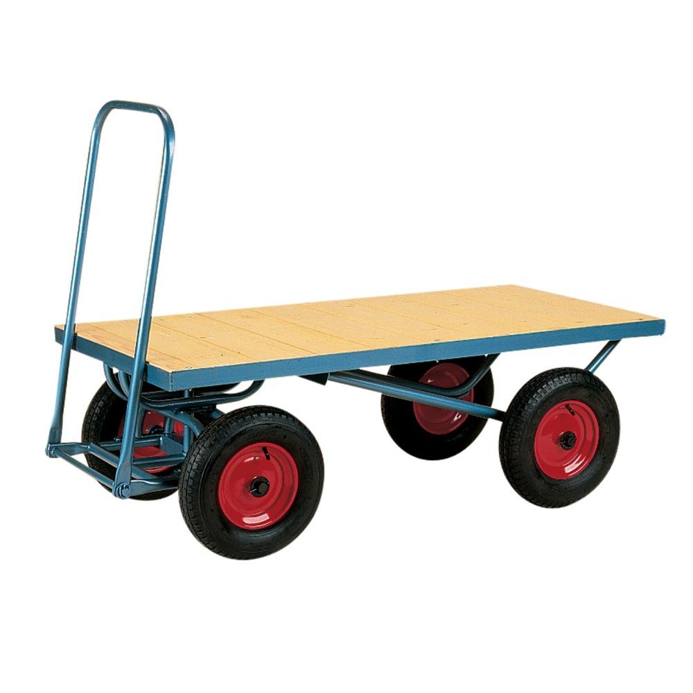 Four Wheeled Trolley: Flat Platform