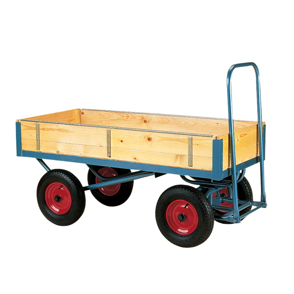 Four Wheeled Trolley: Removable Sided