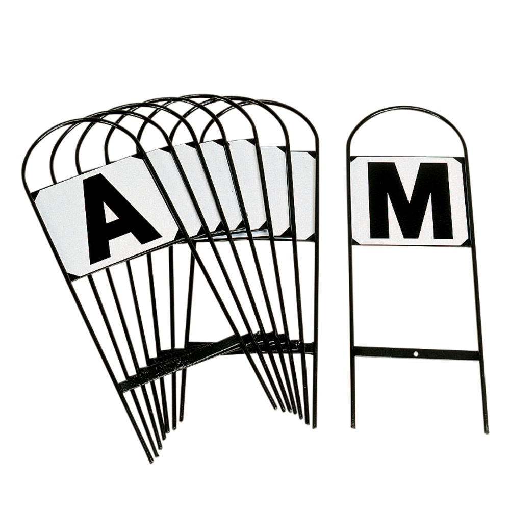 Tread In Markers - Set Of 12 Letters Abcefhkmrsvp