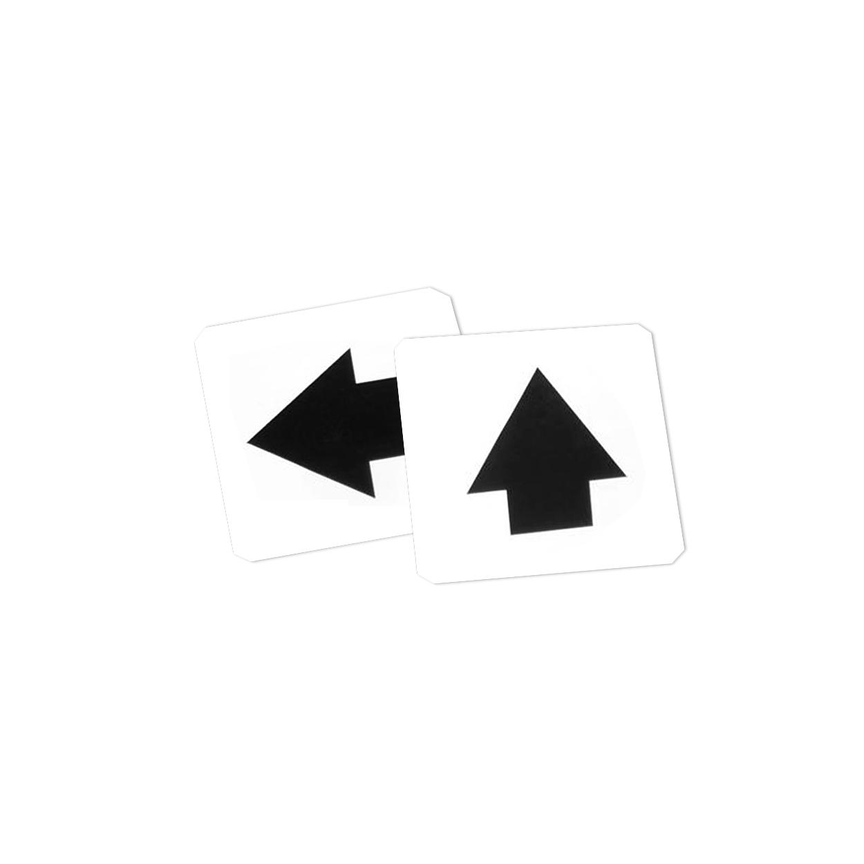Direction Marker Sign Labels Only - Set Of 4