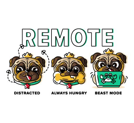 Remote pugs