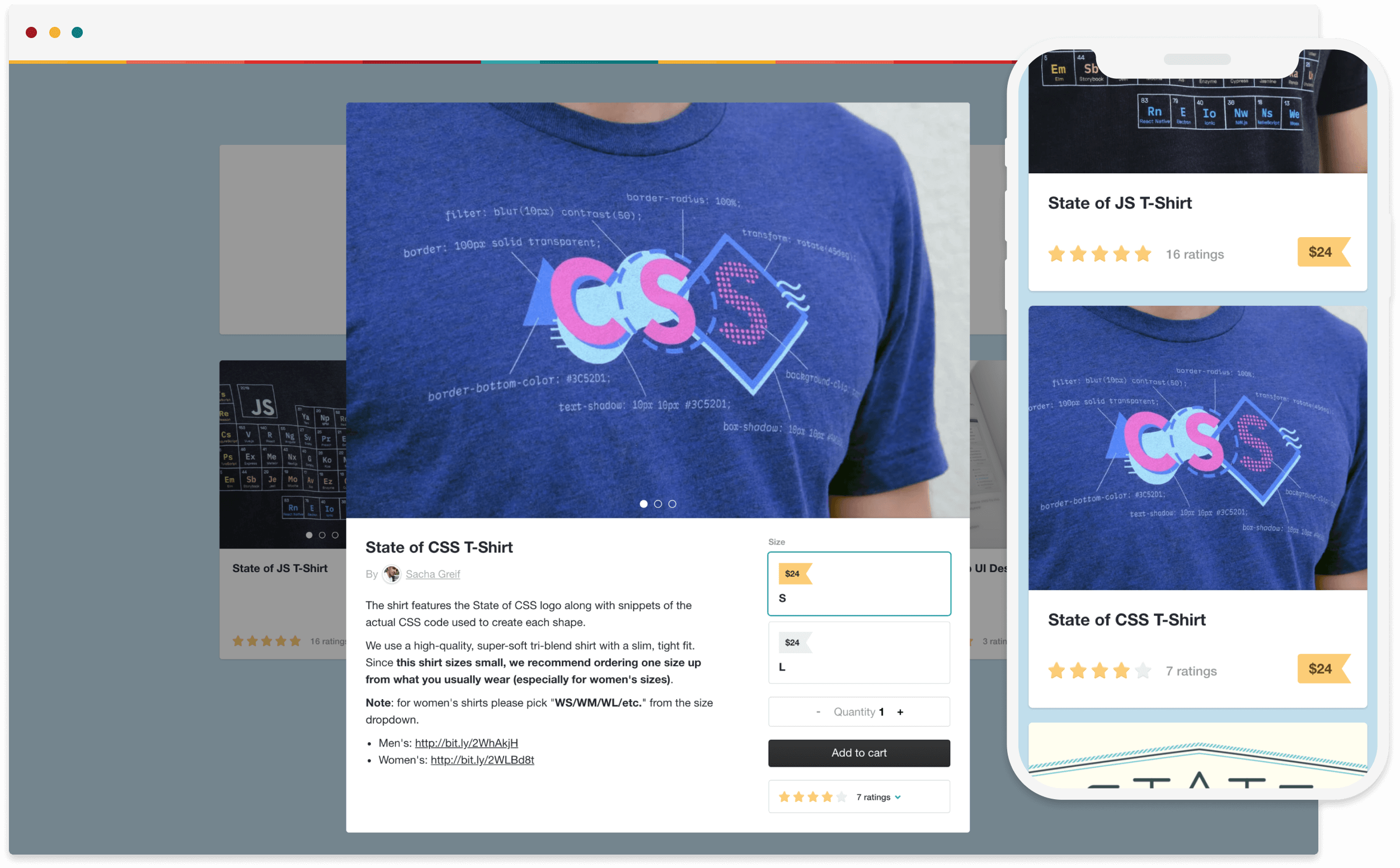 Join hundreds of creators selling t-shirts, handmade scarves, paintings, and more on Gumroad.