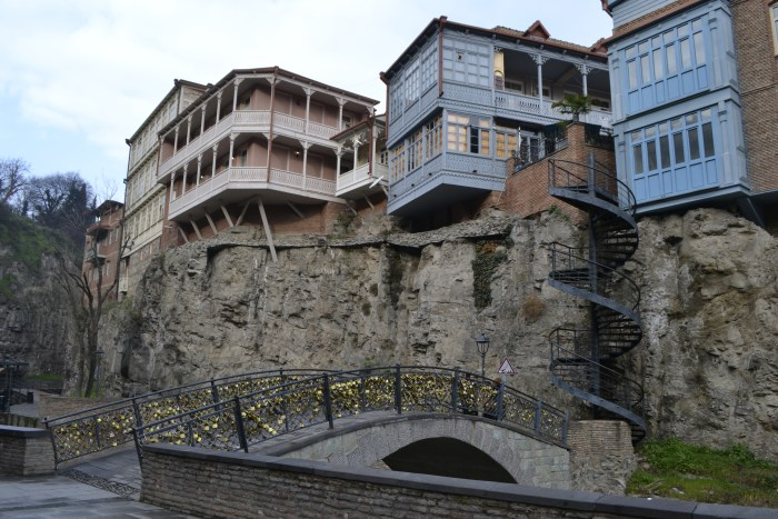 The interesting and charming architectures of the city of Tbilisi