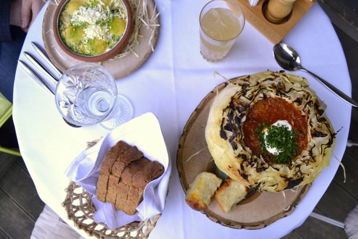 Ukrainian food in Kiev