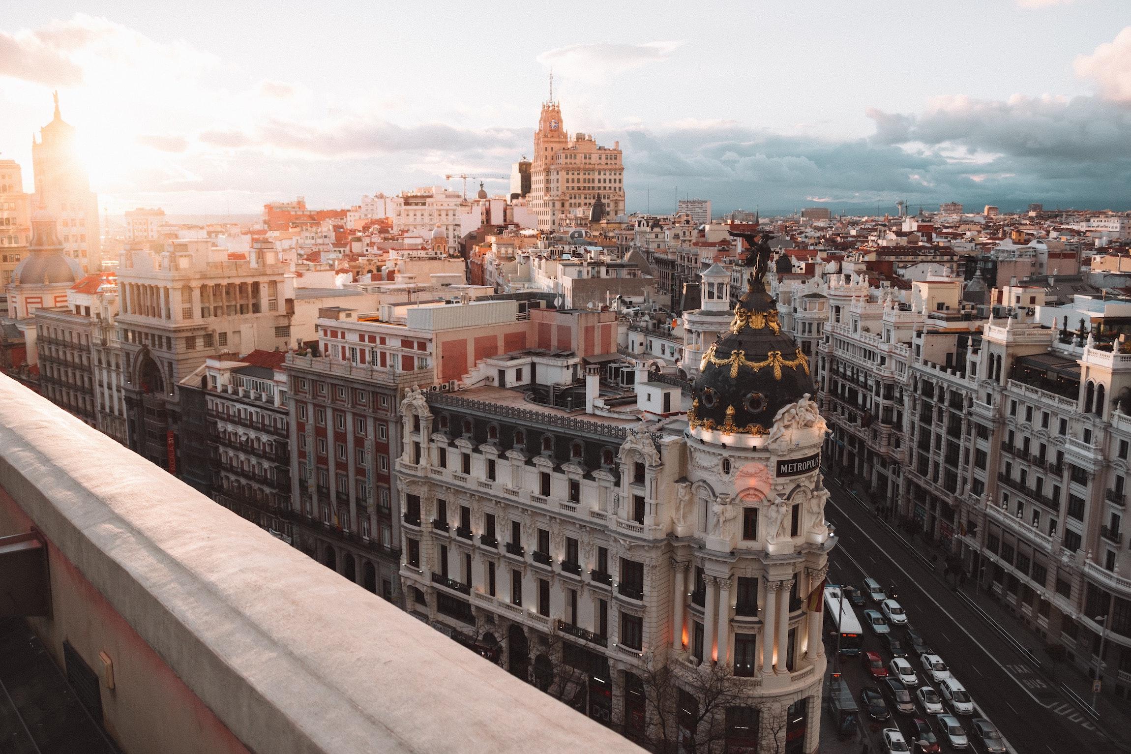 Teaching English in the beautiful Madrid