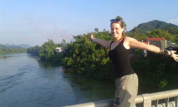 English teacher Georgie shared her fun experience teaching English in Vietnam