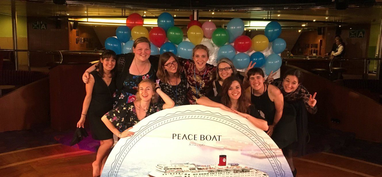 Teaching English with Peace Boat