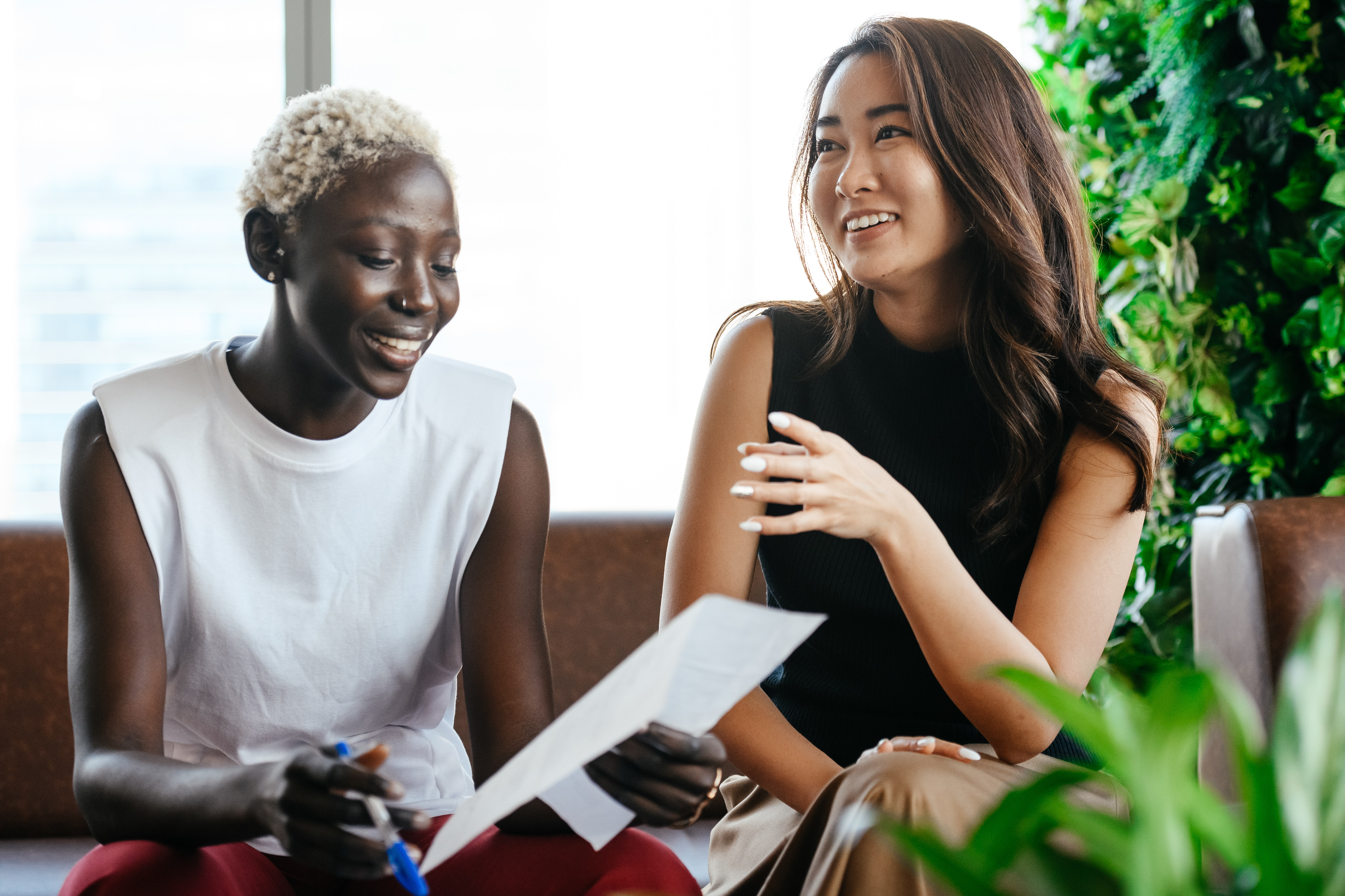 Showing your positive personality in interviews can help you land the job