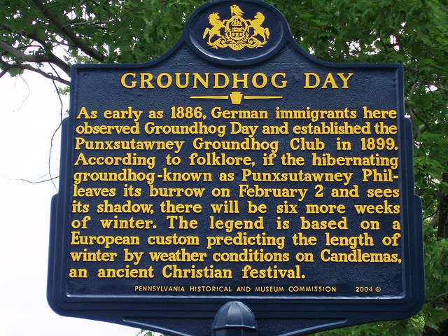 There is an interesting history behind Groundhog Day