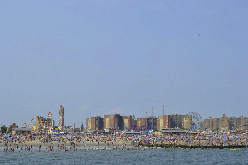 Coney Island is a historic and iconic tourist destinations around New York City