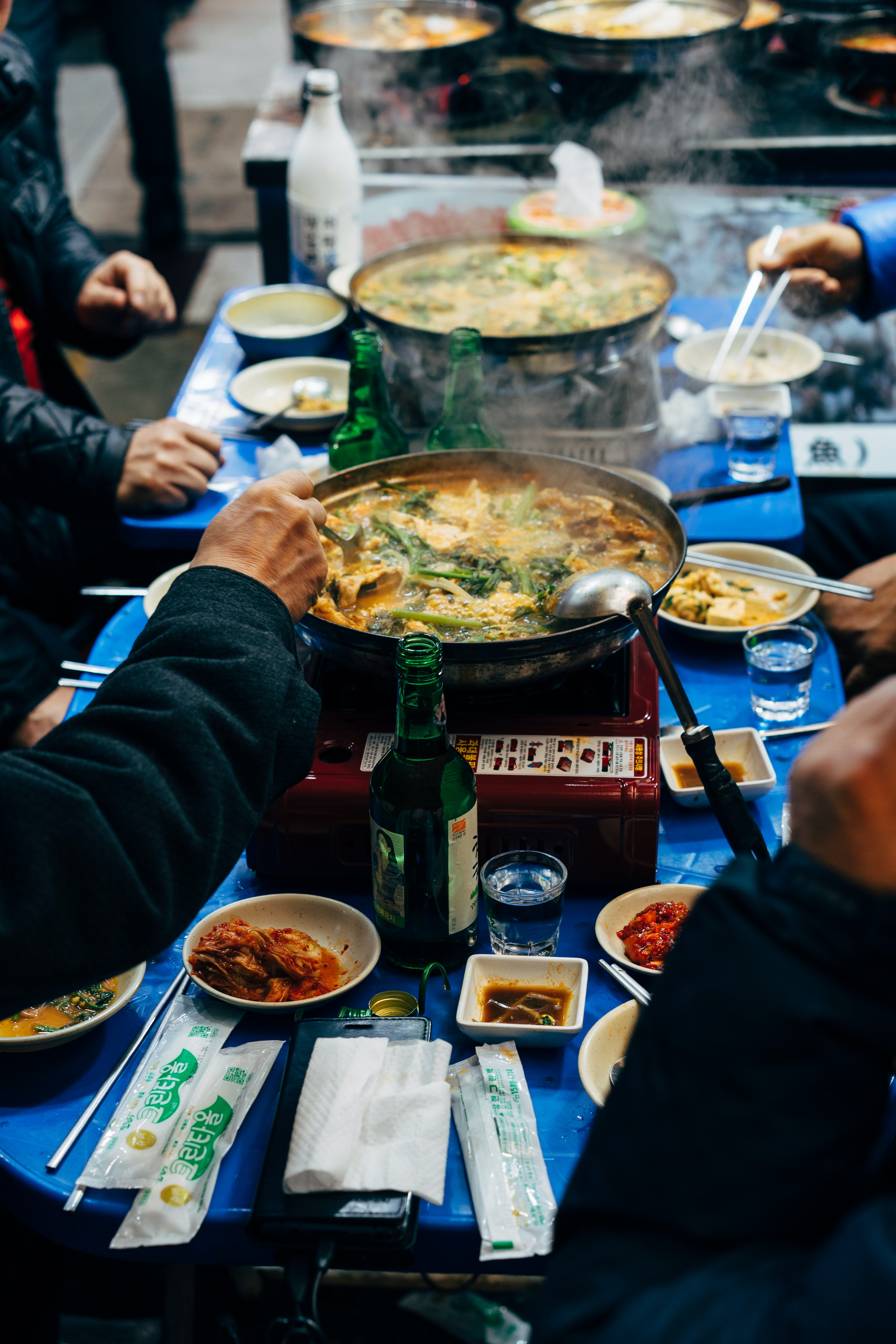 Foods in South Korea are mostly affordable, especially local food