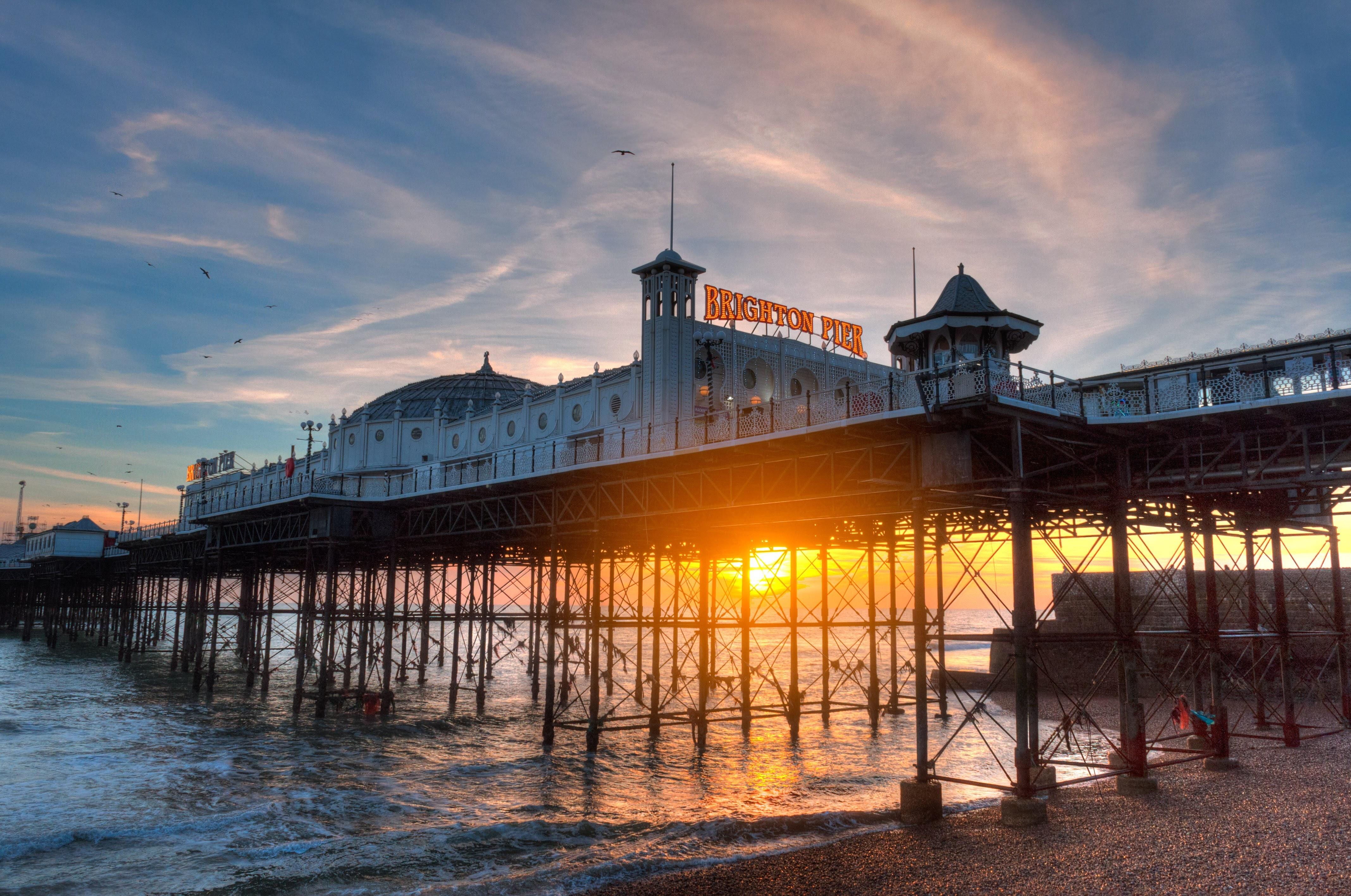 Brighton, United Kingdom is a popular summer destination for foreign ESL students