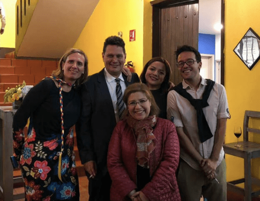 Hard-working TEFL team at International House, Mexico