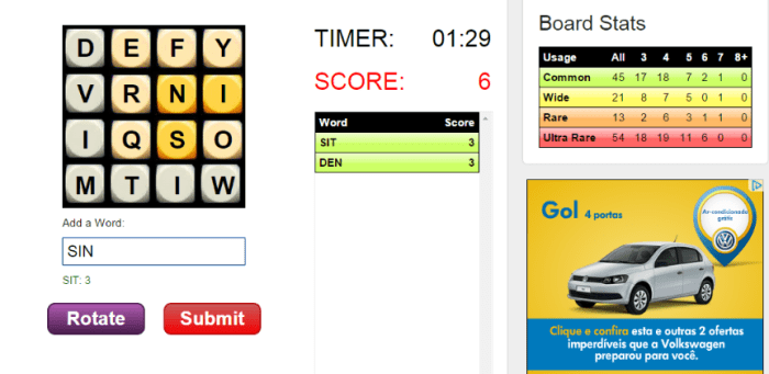 Foster healthy competition and improve students' vocabulary and spelling with the Word Twist game