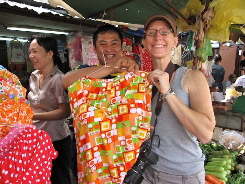 Sherry had a wonderful time teaching English and living as an expat in Vietnam