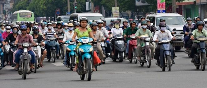 Overcoming Fear: Driving a Motorbike in Vietnam