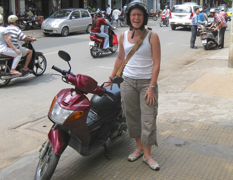 Sherry overcame her fear and experienced something new when she was teaching in Vietnam
