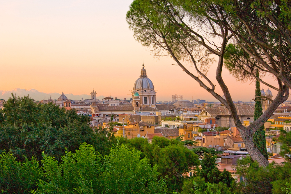 Its beautiful city view makes Rome a must-visit place in Italy