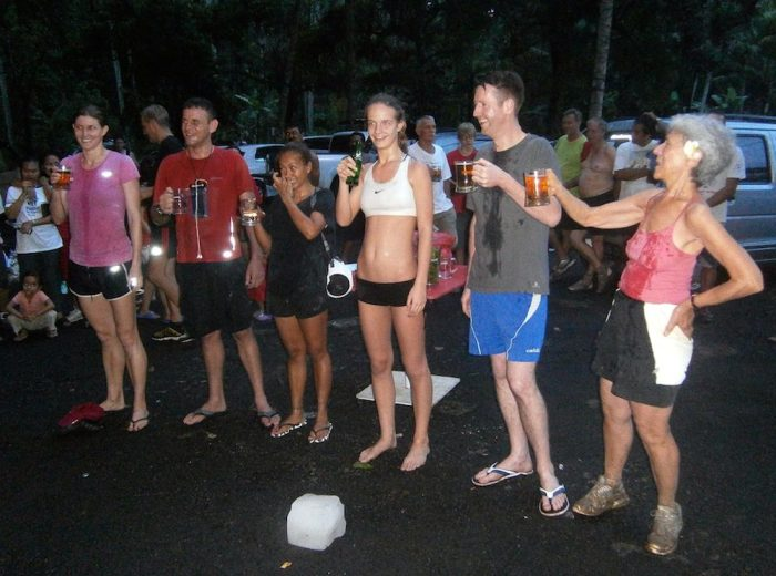 Running can be a social sport, especially when it is done in group and followed by beers with friends afterwards