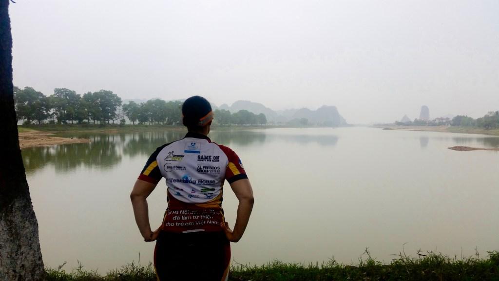 Georgina Sanchez participated in a ten-days biking trip to raise money for Vietnamese Children Charities