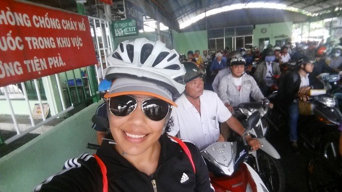 Georgina Sanchez is a CELTA graduate working in Vietnam, where Teaching House sponsored her on a bike ride to benefit local charities
