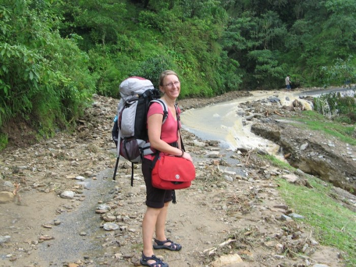 Moving to live and work in another country takes a certain level of spontaneity and bravery for ESL teacher Sherry Ott