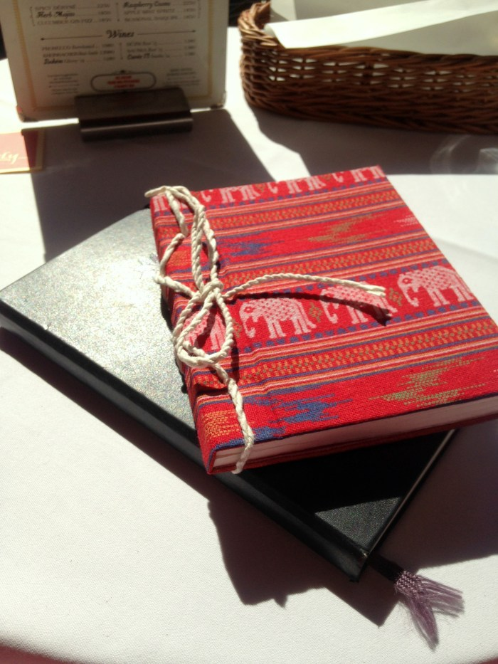 Journaling is a good way to look back and reflect on the trips and memories you had abroad