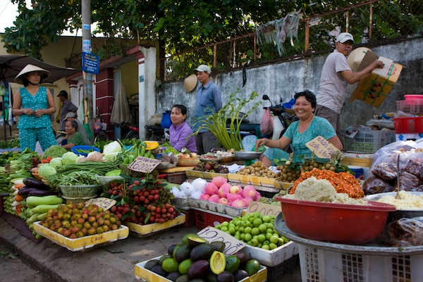 One great thing about living in the Vietnam climate is the fruits are plentiful all year round