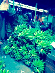 The food market is where most Rwandans get their supply of food