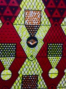 Kitenge is the traditional colourful design of Rwanda that can be found on many pieces of clothing