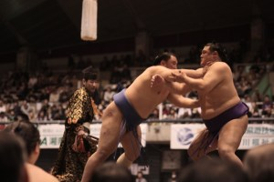 Sumo tournament is an exciting Japanese attraction that travellers can't find elsewhere