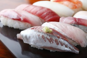 Tokyo offers fresh sushi for breakfast for expats and English teachers living in Japan