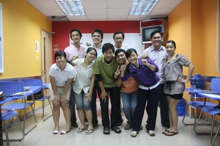 TEFL teachers might adopt a strict persona to maintain order and discipline in the classroom