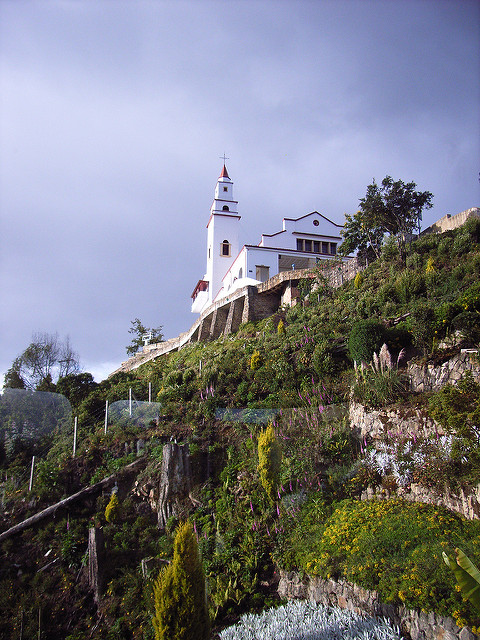 ESL teachers working in Bogota can visit Mount Monserrate on their days off to see gorgeous panoramic views of the city