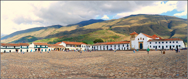 Villa de Leyva is a gorgeous colonial town that is about 160km north of Bogota