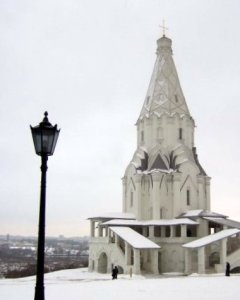 English teachers in Moscow, Russia can take a short trip south of the city to the enchanting Kolomenskoye
