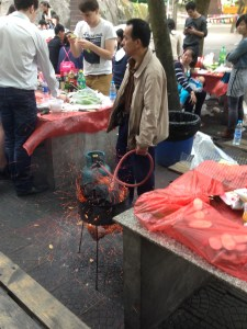 Expats working in China can immerse themselves in the local culture through local food
