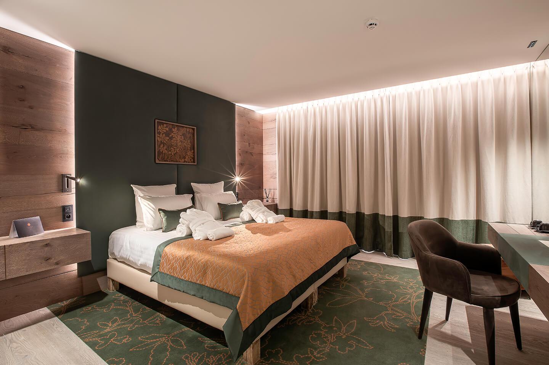 Chambres avec vues sur le lac d'Annecy au Rivage Hotel