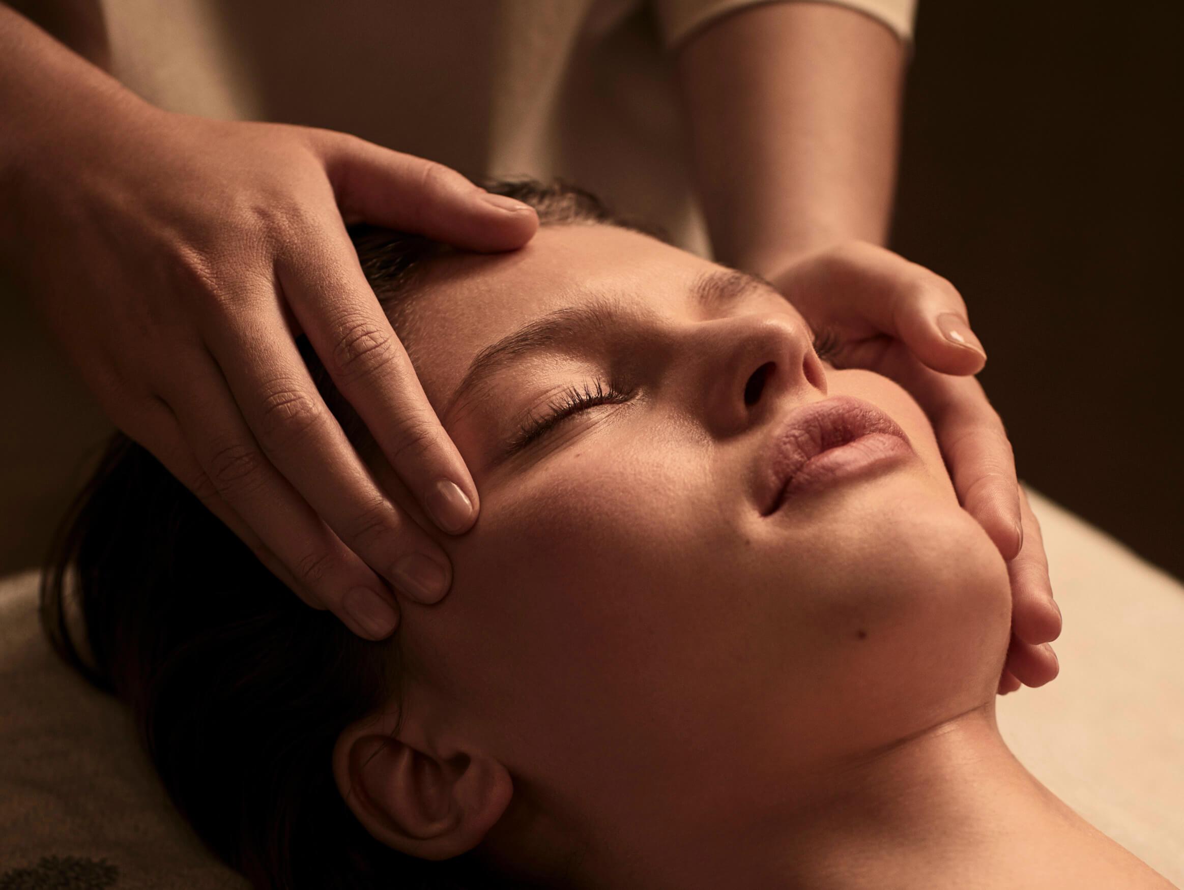 Séance de massage NUXE