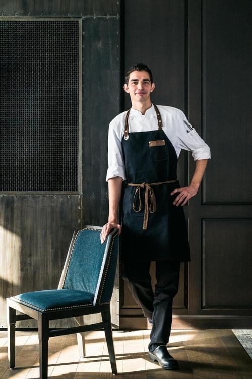 Chef Cuisinier Nicolas Cegretin Le Ricochet Restaurant au bord du lac d'Annecy