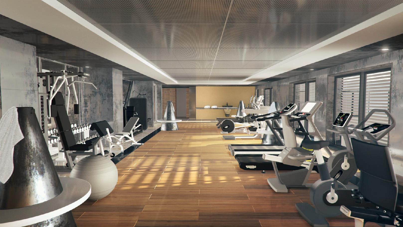 Salle de fitness du Rivage Annecy