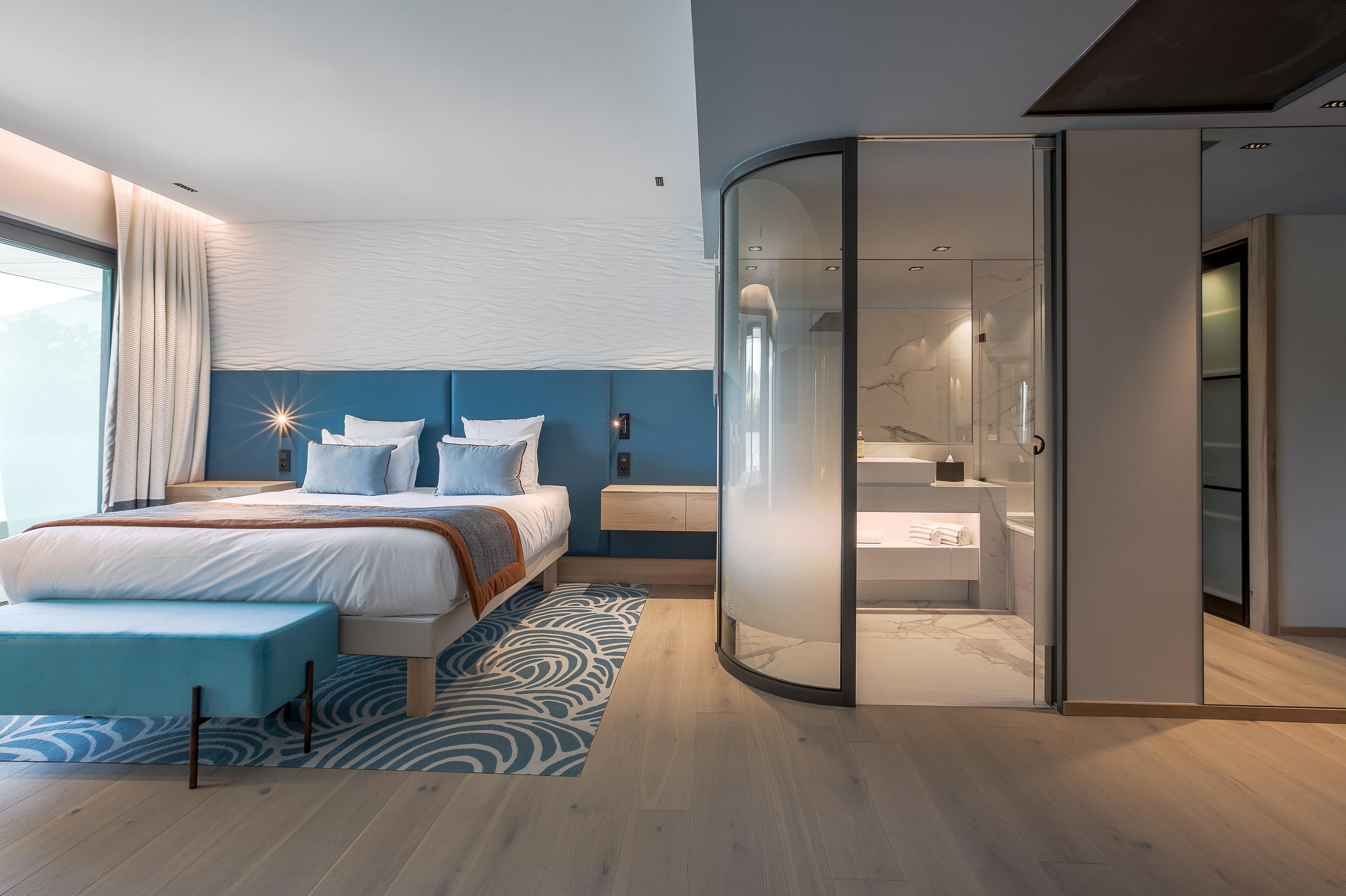 Suite Deluxe Hôtel Rivage avec vue sur le lac d'Annecy
