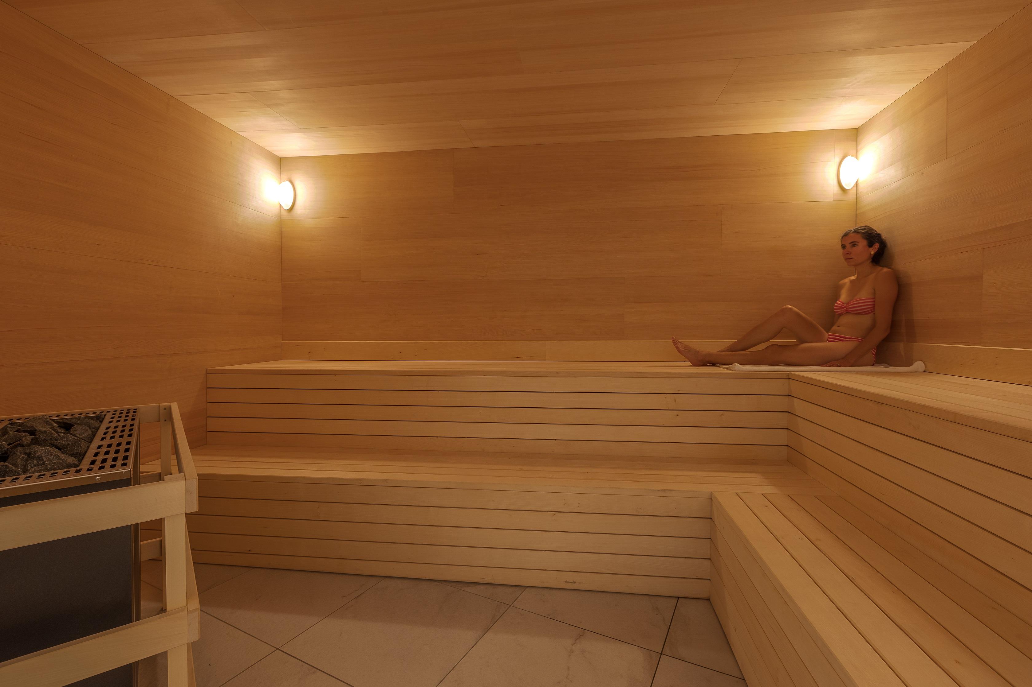 Sauna à l'espace aquatique du Rivage Annecy