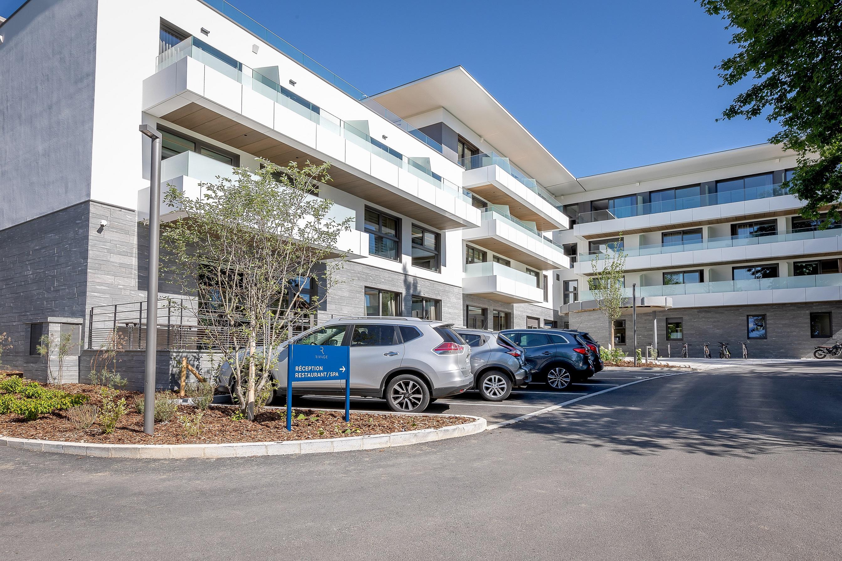 Parking de l'hôtel Rivage & Spa