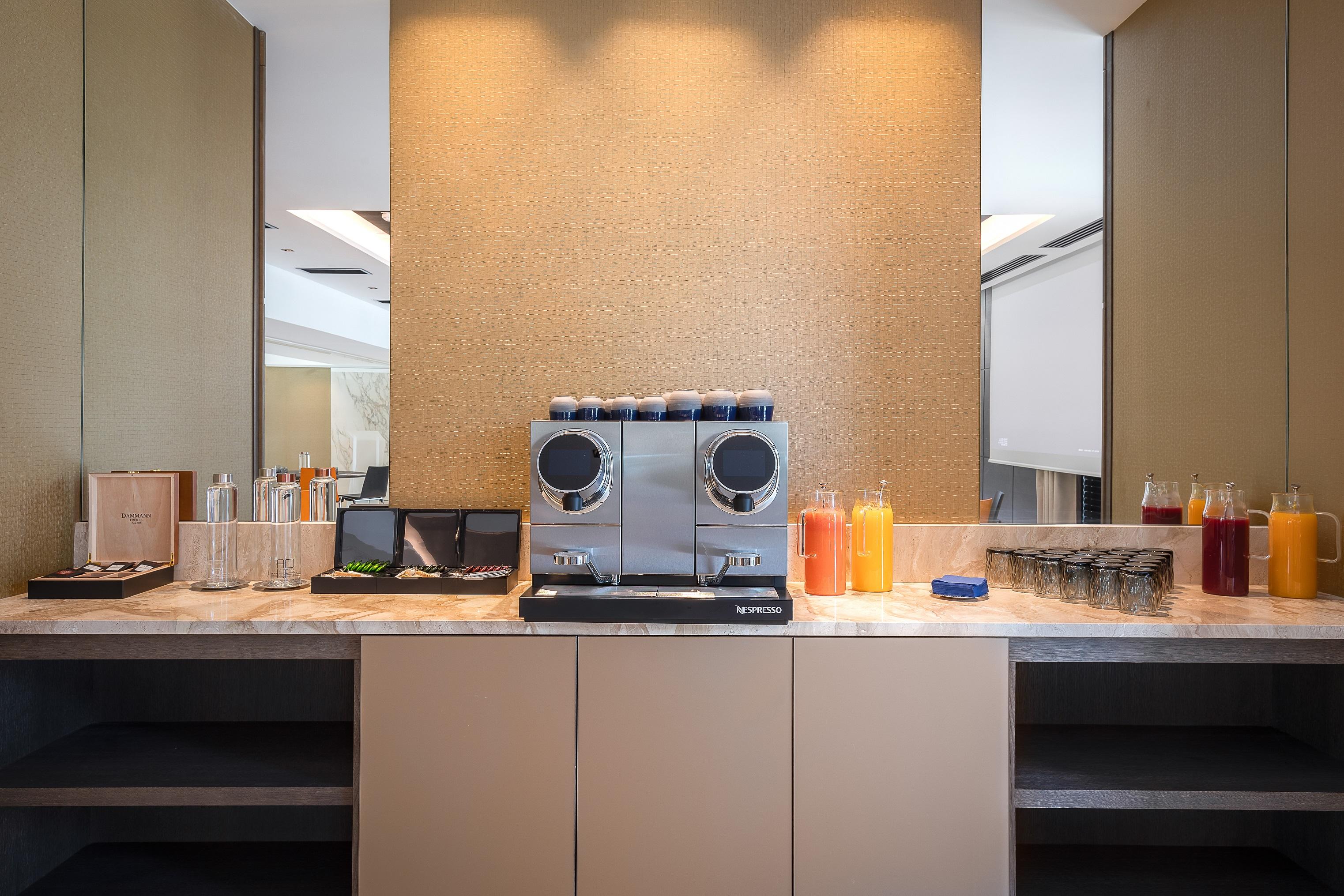 Pause café et boissons à Rivage Hôtel & Spa pour les salles de réunion