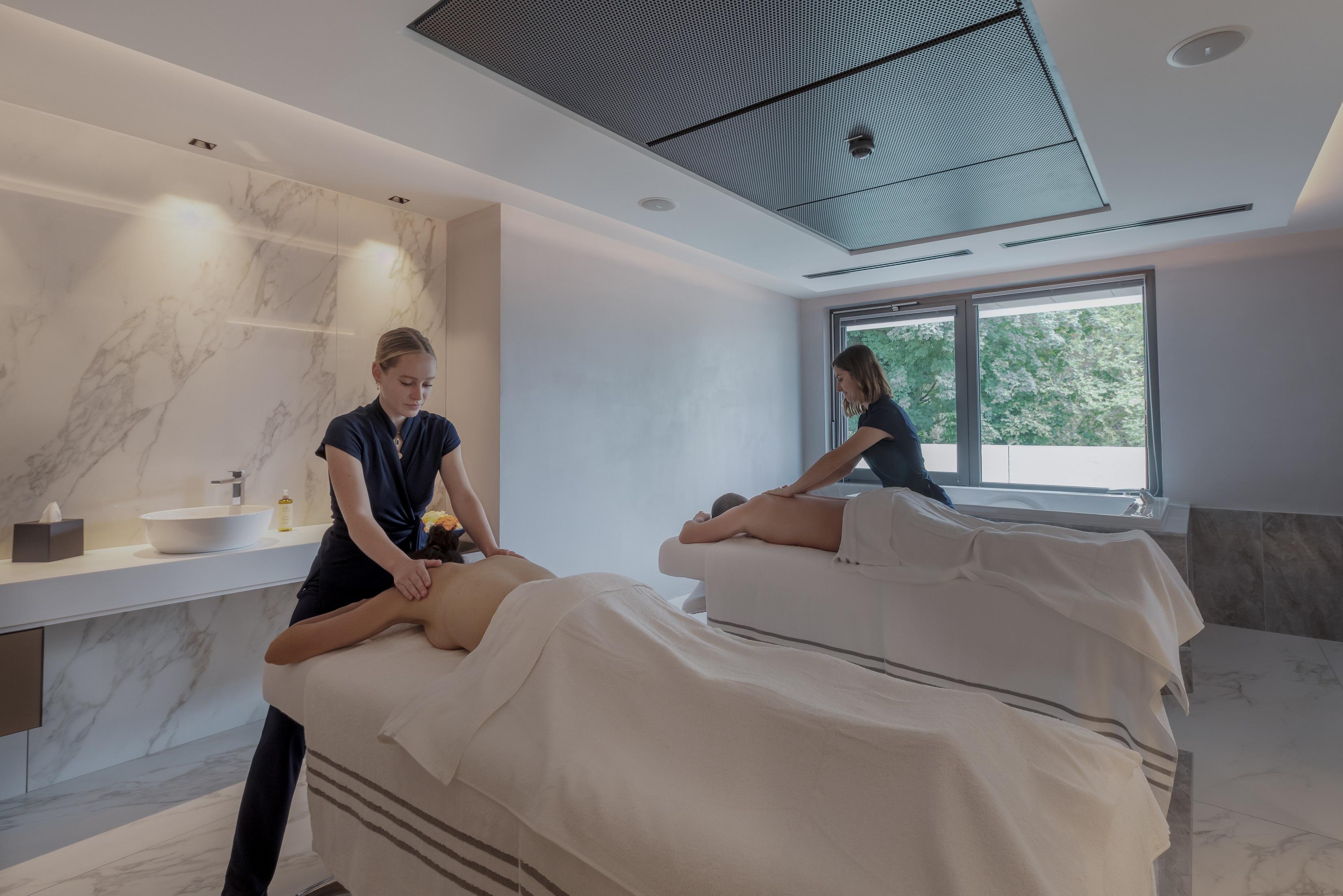 Massage NUXE au spa de l'hôtel Rivage à Annecy